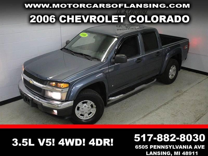 2006 CHEVROLET COLORADO LT 4DR CREW CAB 4WD SB blue nada reatail 139503 month 3500 mile warrant