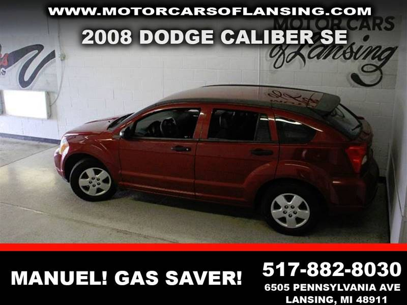 2008 DODGE CALIBER SE 4DR WAGON burgundy clean low miles  3 month 4000 mile limited powertra