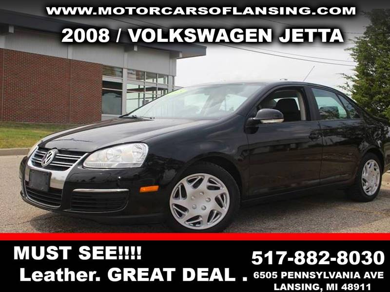 2008 VOLKSWAGEN JETTA S PZEV 4DR SEDAN 6A black check out this jetta  exhaust - dual tip door h