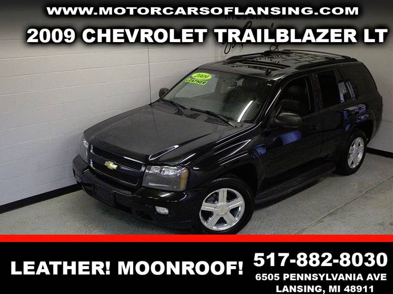2009 CHEVROLET TRAILBLAZER LT3 black leather sunroof  clean  3 month 4000 mile limited powe