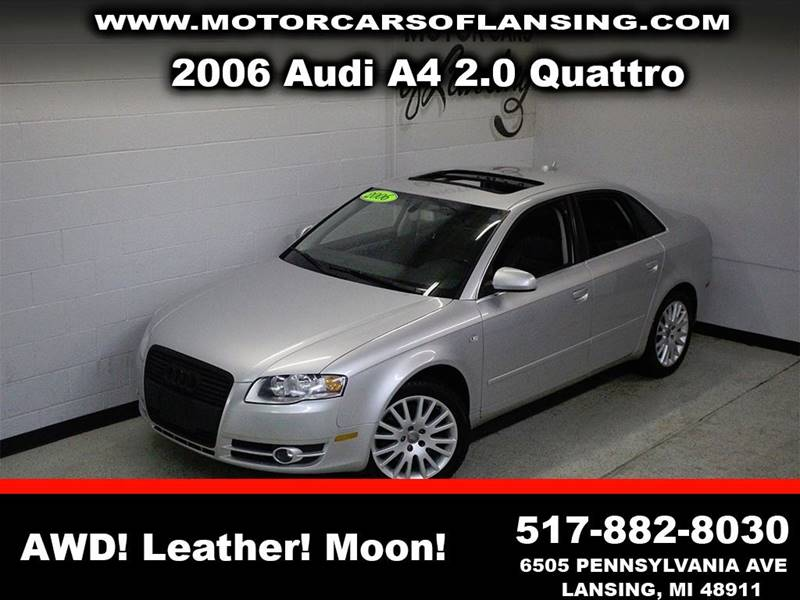 2006 AUDI A4 20T QUATTRO silver awd leather sunroof clean low miles  3 month 4000 mile