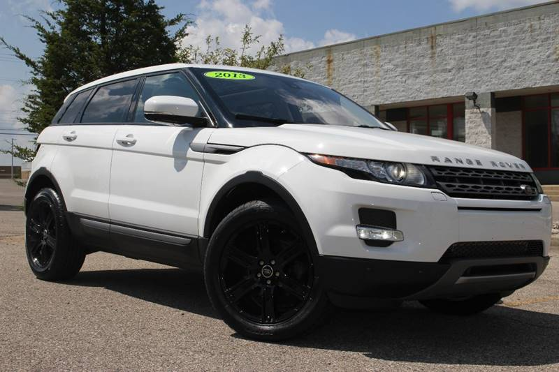 2013 LAND ROVER RANGE ROVER EVOQUE PURE PREMIUM AWD 4DR SUV white panoramic roof navigation sate