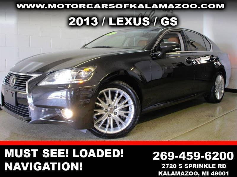 2013 LEXUS GS 350 BASE AWD 4DR SEDAN black exhaust - dual tip exhaust tip color - stainless-stee
