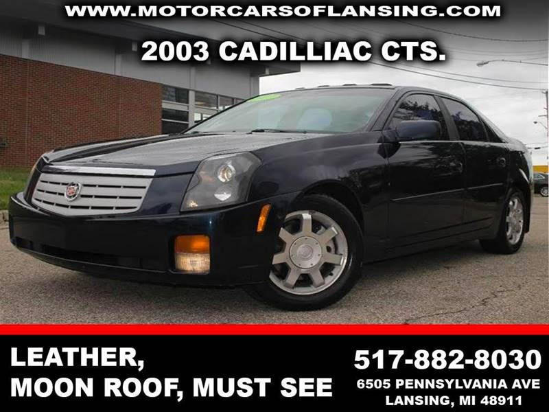 2003 CADILLAC CTS BASE 4DR SEDAN blue xtra cleanmust see front air conditioning front air cond