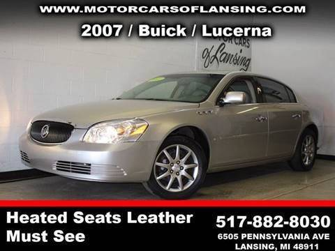 2007 BUICK LUCERNE CXL V6 4DR SEDAN silver loaded leather drive comfortably this winter with heat