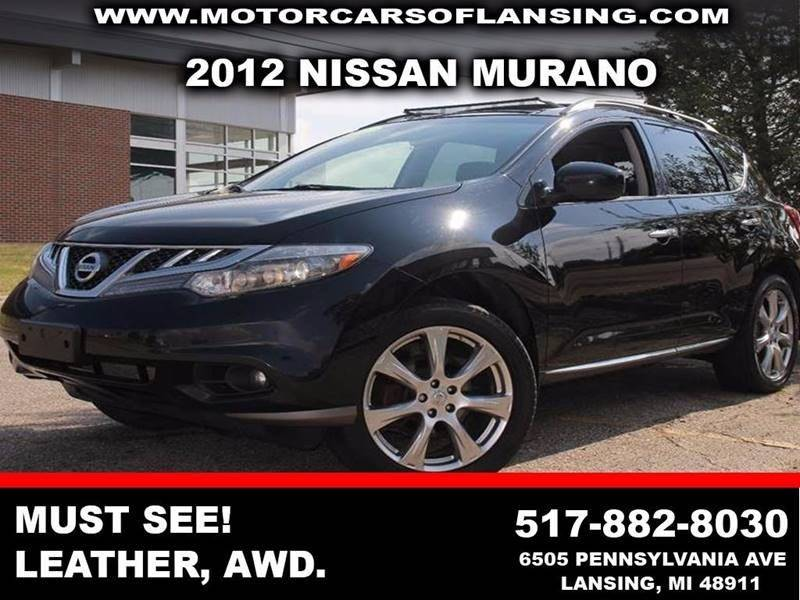 2012 NISSAN MURANO LE AWD 4DR SUV black sporty style meets class and versatility  the 2012 nissa