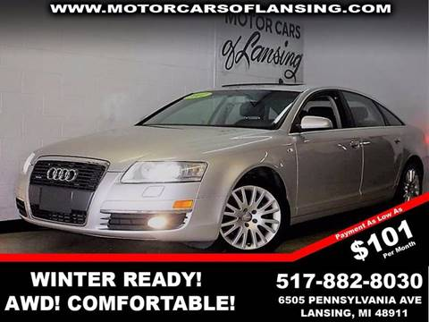 2007 Audi A6 for sale in Lansing, MI