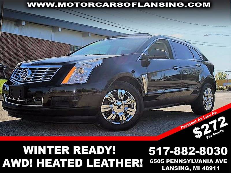 2013 CADILLAC SRX LUXURY COLLECTION AWD 4DR SUV black luxury packagepanaramic roofawd this veh