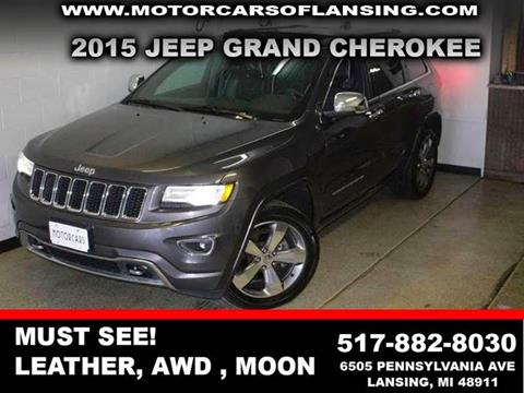 2015 Jeep Grand Cherokee for sale in Lansing, MI