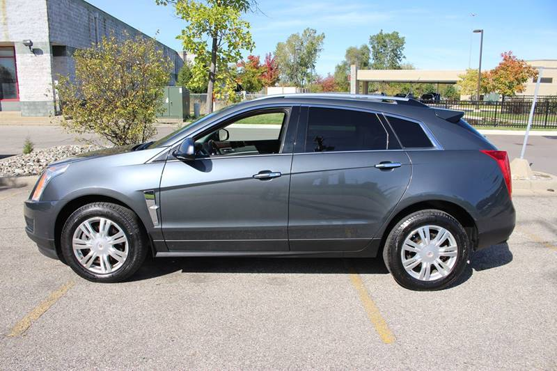 2010 CADILLAC SRX LUXURY COLLECTION AWD 4DR SUV gray panoramic moonroof back up sensor heated l