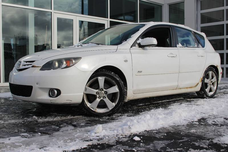 2006 MAZDA MAZDA3 S 4DR WAGON white local trade in   guaranteed credit approval   motorcars cer