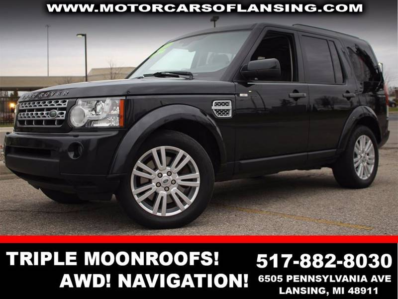 2011 LAND ROVER LR4 BASE 4X4 4DR SUV santorini black all wheel drive   parking sensors    3rd r