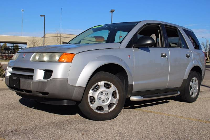 2003 SATURN VUE BASE AWD 4DR SUV silver all wheel drive     guaranteed credit approval   runnin