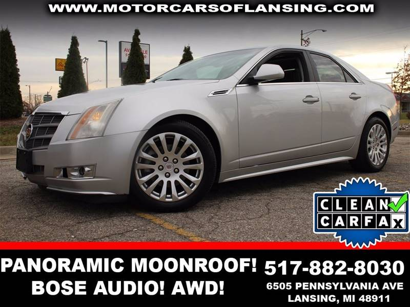2010 CADILLAC CTS 36L V6 PERFORMANCE AWD 4DR SEDA radiant silver metallic all wheel drive   hea