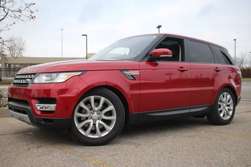 2016 LAND ROVER RANGE ROVER SPORT HSE TD6 AWD 4DR SUV firenze red all wheel drive   local trade i