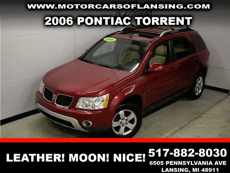 2006 PONTIAC TORRENT BASE burgundy leather sunroof clean low miles  3 month 3000 mile limi