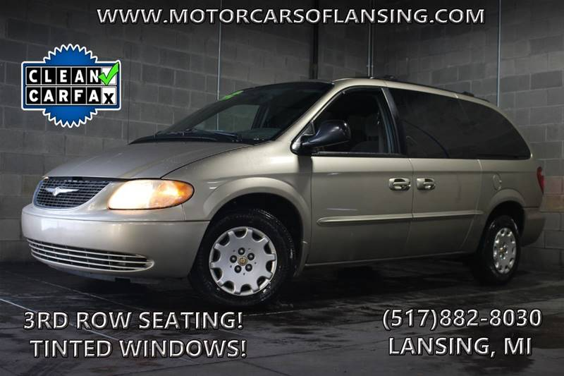 2002 CHRYSLER TOWN AND COUNTRY EL 4DR EXTENDED MINI VAN light almond pearl metallic clearcoat xtr