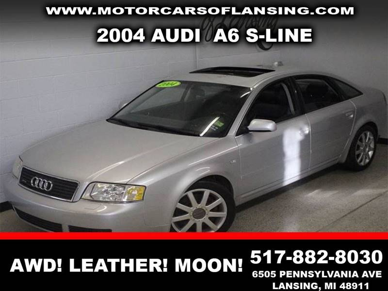2004 AUDI A6 27T S-LINE QUATTRO silver awd leather sunroof  clean  3 month 4000 mile limi