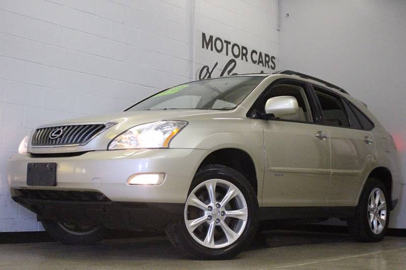 2008 LEXUS RX 350 BASE beige awd leather sunroof 3 month 3000 mile limited powertrain warrant