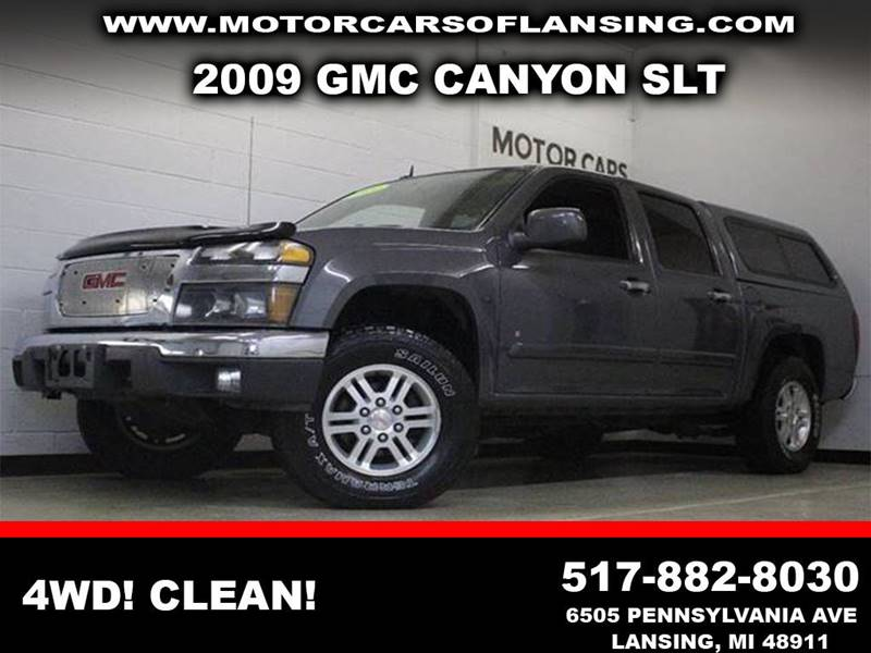 2009 GMC CANYON SLT gray 4wd cleanfiberglass topper includedbedlinermust see  3 month 400