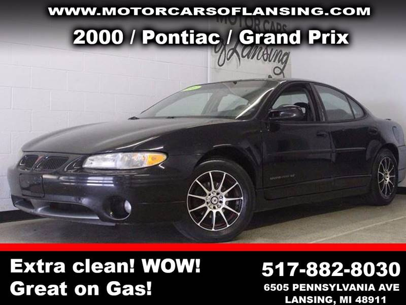 2000 PONTIAC GRAND PRIX GT 4DR SEDAN black guaranteed credit approval clean carfax history report
