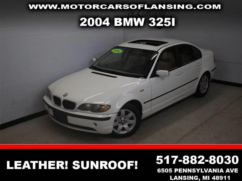 2004 BMW 3 SERIES 325I white leather sunroofclean  3 month 3000 mile limited powertrain war