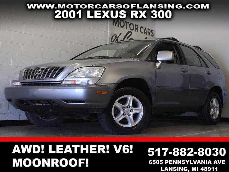 2001 LEXUS RX 300 BASE AWD 4DR SUV blue leather dual zone ac sunroof  3 month 4000 mile li