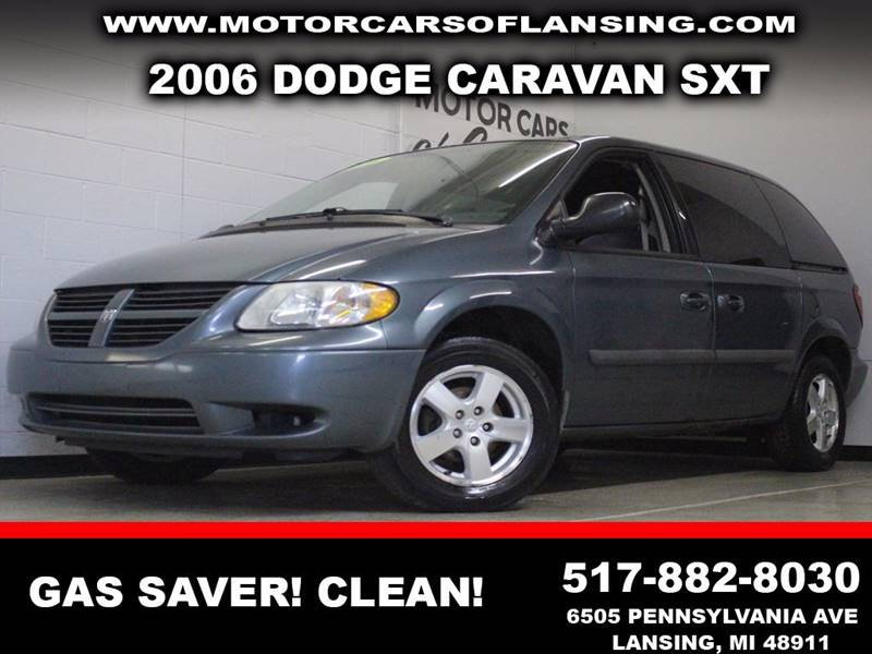2006 DODGE CARAVAN SXT blue  3 month 4000 mile limited powertrain warranty is available in ask