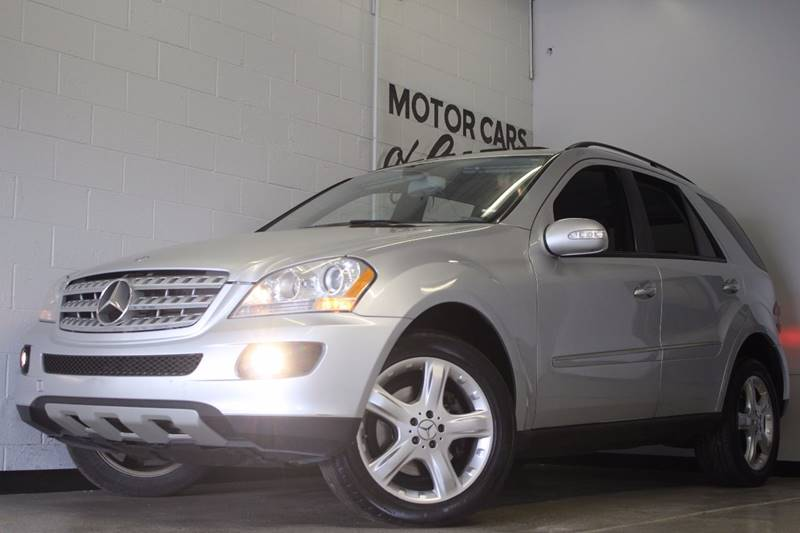 2007 MERCEDES-BENZ M-CLASS ML320 CDI AWD 4MATIC 4DR SUV silver suede awd 30l v6 turbo diesel n