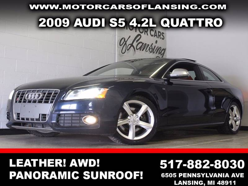 2009 AUDI S5 QUATTRO midnight blue awd leather panoramic sunroof rear-view camera  3 month