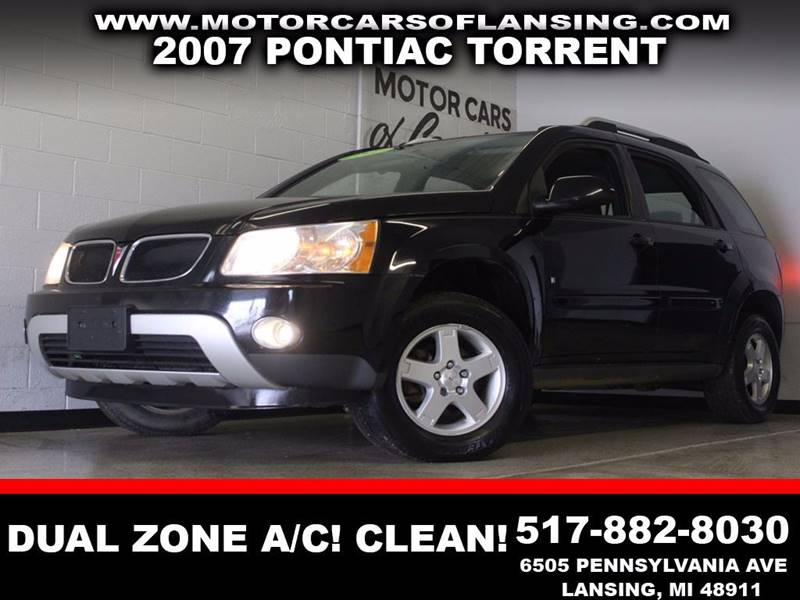 2007 PONTIAC TORRENT BASE 4DR SUV black auxiliary dual zone ac clean  3 month 4000 mile li