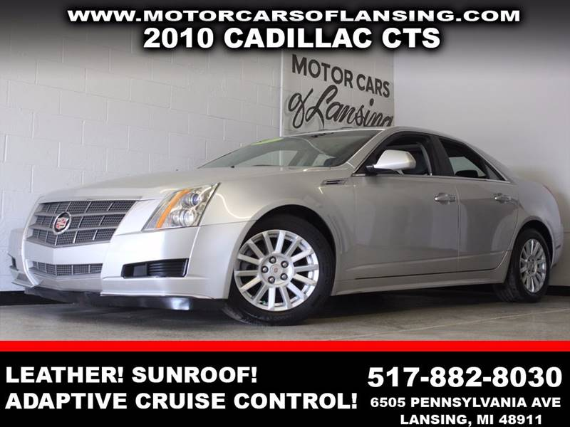 2010 CADILLAC CTS 30L V6 silver leather sunroof adaptive cruise control   3 month 4000 mil