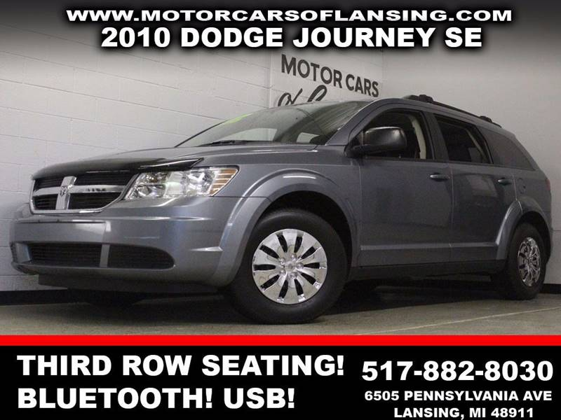 2010 DODGE JOURNEY SE 4DR SUV gray 3rd row seating bluetooth auxiliary  3 month 4000 mile l