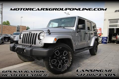 2018 Jeep Wrangler Unlimited for sale in Lansing, MI