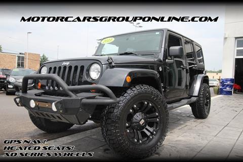 2013 Jeep Wrangler Unlimited for sale in Lansing, MI