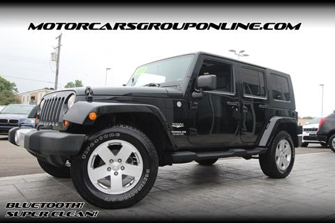2010 Jeep Wrangler Unlimited for sale in Lansing, MI