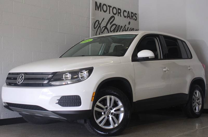 2014 VOLKSWAGEN TIGUAN S 4DR SUV 6A white this is a very clean tiguan s like new 3 keys manual