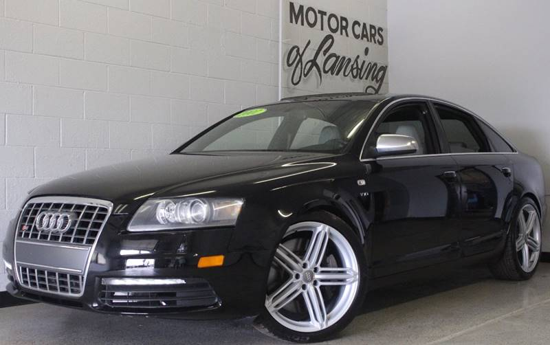 2007 AUDI S6 QUATTRO AWD 4DR SEDAN black this is a very clean s6 with navigation carbon fiber tr
