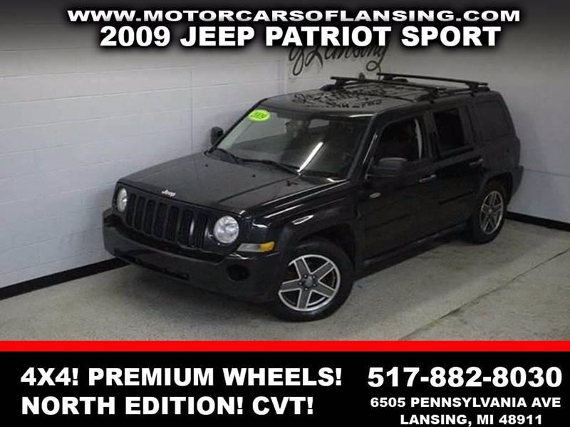 2009 JEEP PATRIOT SPORT 4X4 4DR SUV black 4wd  north edition clean   3 month 4000 mile limit