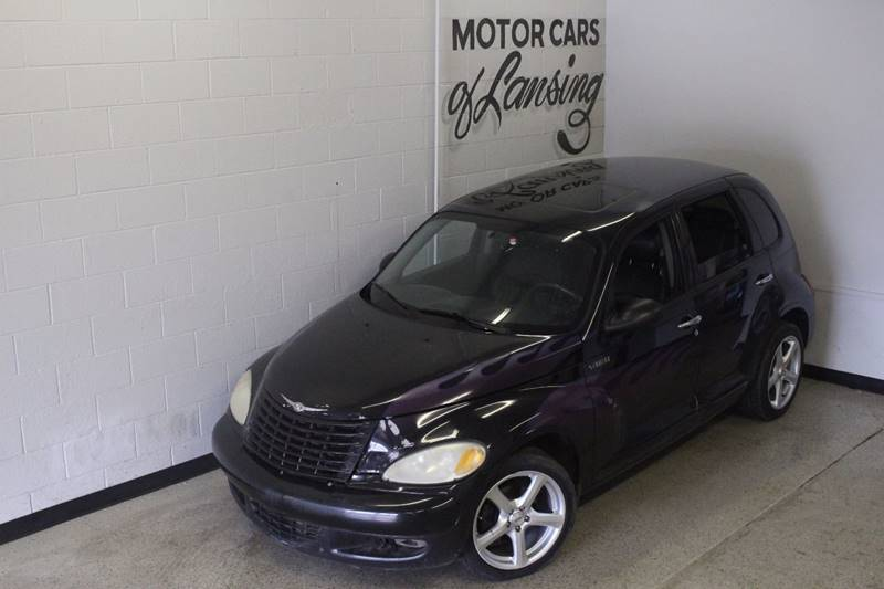 2003 CHRYSLER PT CRUISER GT 4DR TURBO WAGON black turbo leather moonroof auxiliary clean