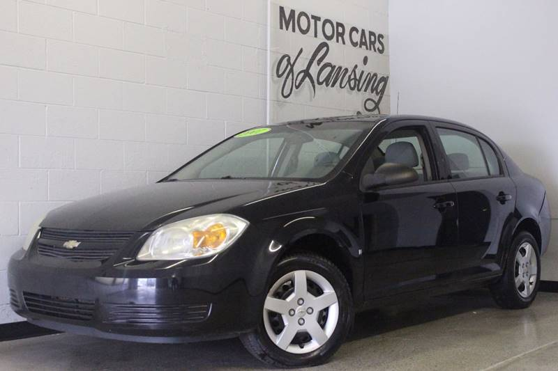 2007 CHEVROLET COBALT LS 4DR SEDAN black manual transmission auxiliary clean  3 month 4000