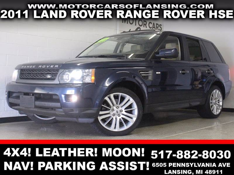 2011 LAND ROVER RANGE ROVER SPORT HSE 4X4 4DR SUV blue 4x4 leather moonroof navigation parkin