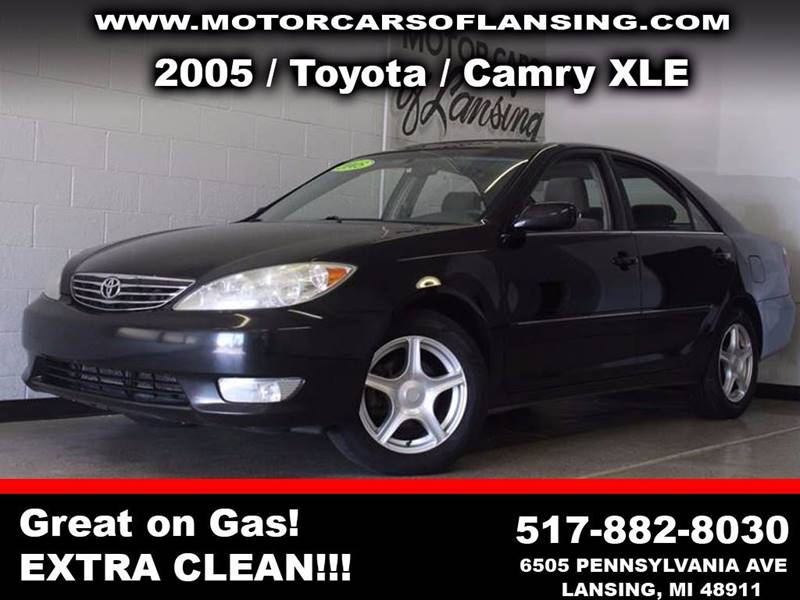 2005 TOYOTA CAMRY XLE 4DR SEDAN black  3 month 4000 mile limited powertrain warranty is availa
