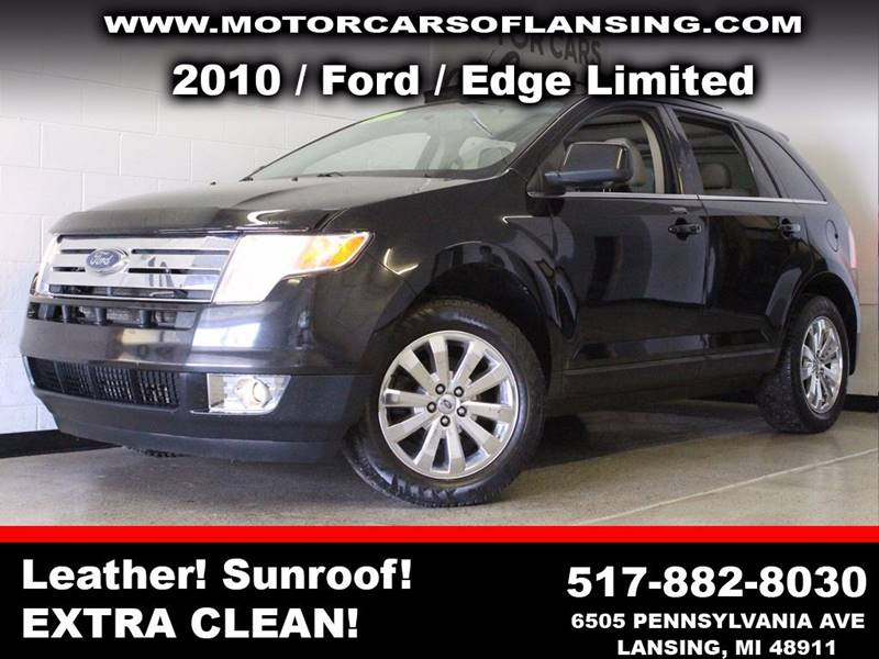 2010 FORD EDGE LIMITED 4DR SUV black  3 month 3000 mile limited powertrain warranty is availab