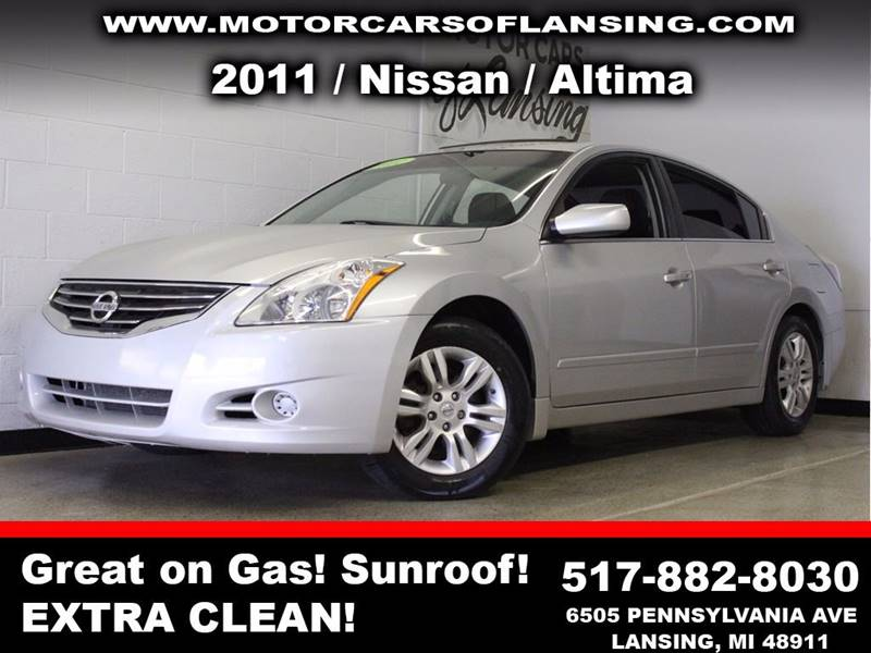 2011 NISSAN ALTIMA 25 SL 4DR SEDAN silver  3 month 4000 mile limited powertrain warranty is a