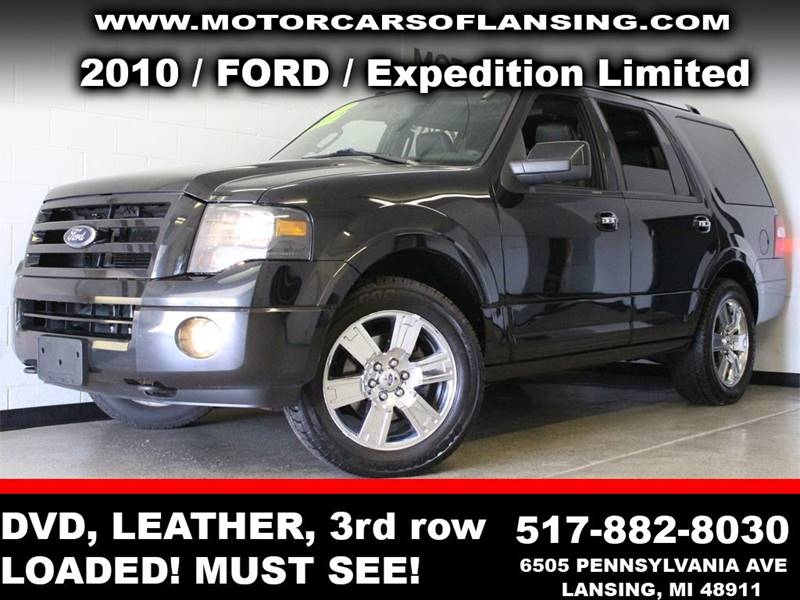 2010 FORD EXPEDITION LIMITED 4X4 4DR SUV black  3 month 3000 mile limited powertrain warranty