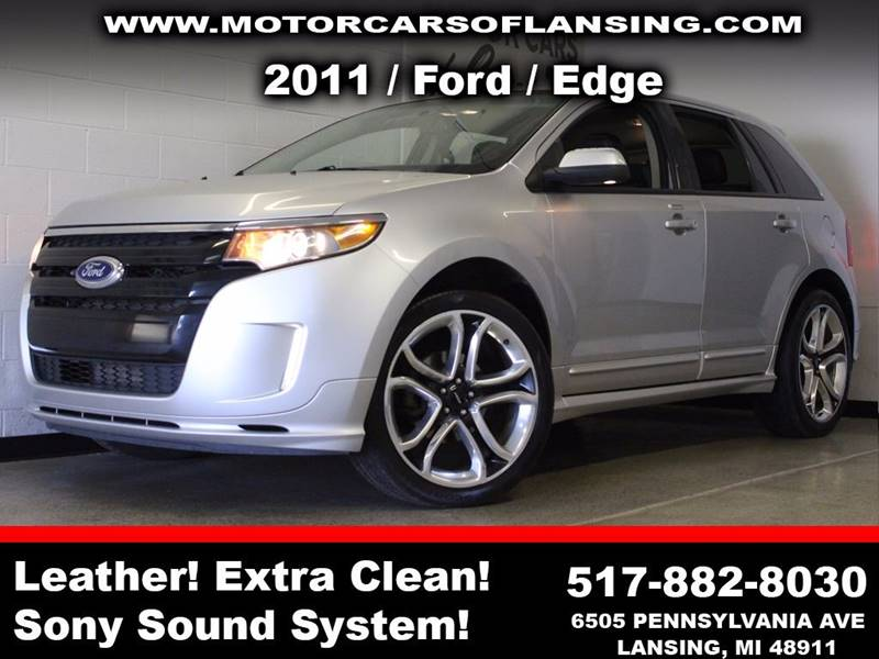 2011 FORD EDGE SPORT AWD 4DR SUV silver  3 month 4000 mile limited powertrain warranty is avai