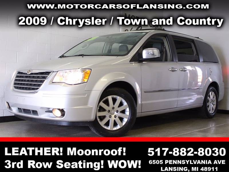 2009 CHRYSLER TOWN AND COUNTRY TOURING MINI VAN 4DR silver  3 month 3000 mile limited powertra