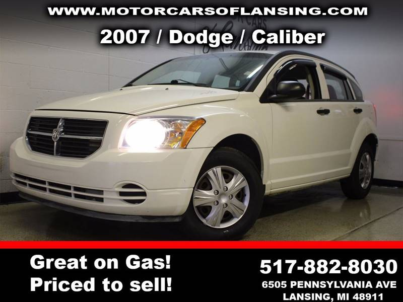 2007 DODGE CALIBER SXT 4DR WAGON white all customers are welcome to perform an inspection on our