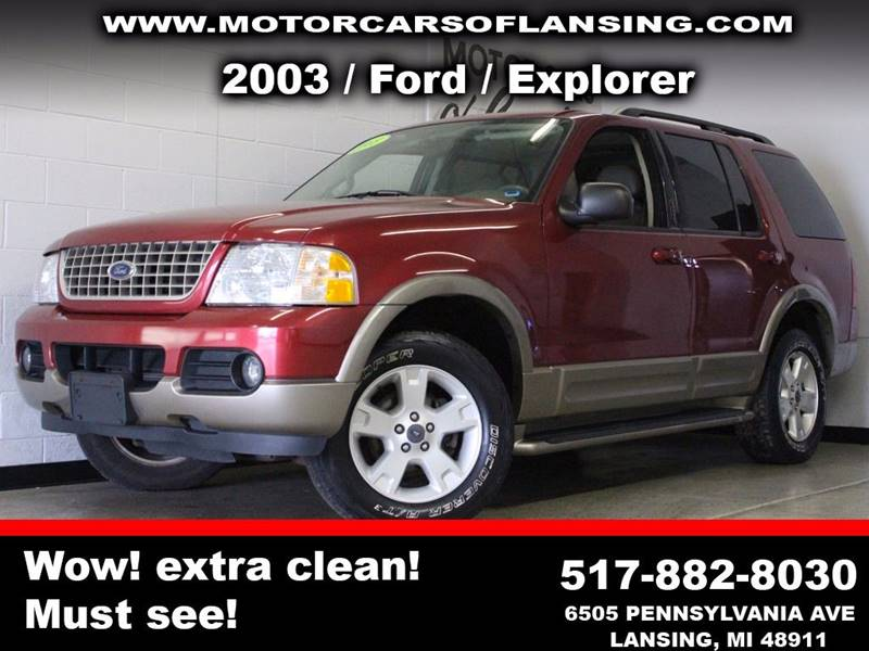 2003 FORD EXPLORER EDDIE BAUER 4WD 4DR SUV burgundy third row moonroofbe sure to check back soon